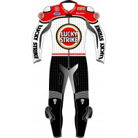 Lucky Strike Suzuki SCHWANTZ Track & Road Motorcycle Suit